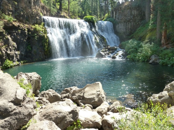 Enchantment at Middle Falls on McCloud River