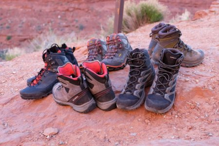 Hiking boots are not motorcycling boots, despite having many desirable features. Photo: see link.