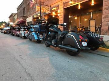 indian motorcycles veterans charity ride south dakota hot springs