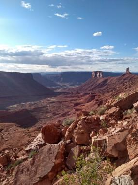 desert canyon landscape