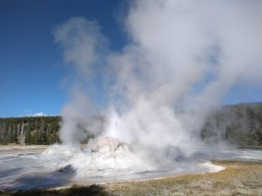 There are A LOT of geysers around Yellowstone.