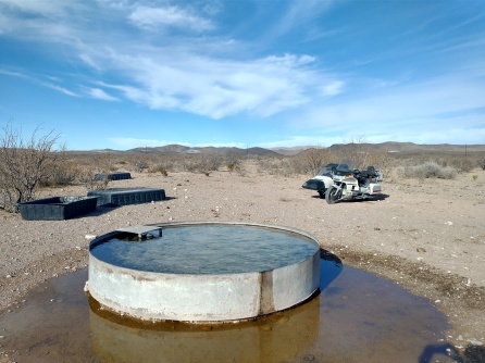 Water in the desert. Once a reason to go to war.